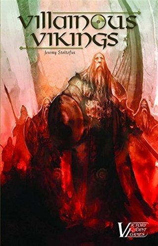 Exploration and Conquest Boxed Board Game Victory Point Games VPG25002 Villainous Vikings