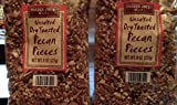 Trader Joes Dry Toasted Unsalted Pecan Pieces 2 pack each bag 8 oz. Total 2 Items