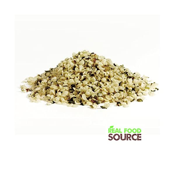 RealFoodSource Raw Shelled Hemp Seeds (1kg (1 x 1kg))