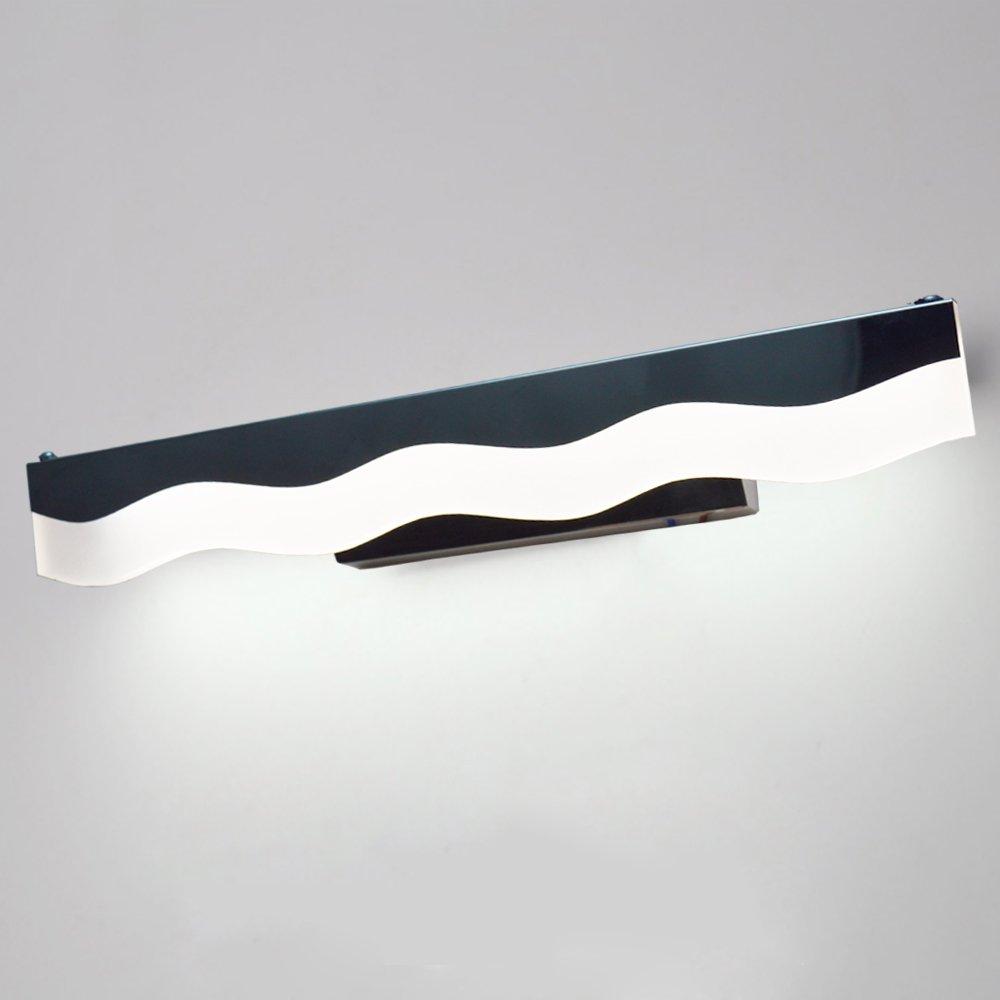 ZHMA Lampe Salle de Bain LED 6W Blanc IP44 Eclairage Pour Miroir Maquillage Ameublement Meuble Applique Mural ZHMA Lighting