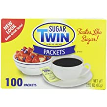 Sugar Twin, 100 Packets (Pack of 12)