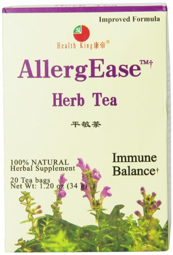 - Health King Herb Tea, AllergEase, 20 Teabags