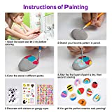 Rock Painting Kit for Kids, Arts and Crafts for