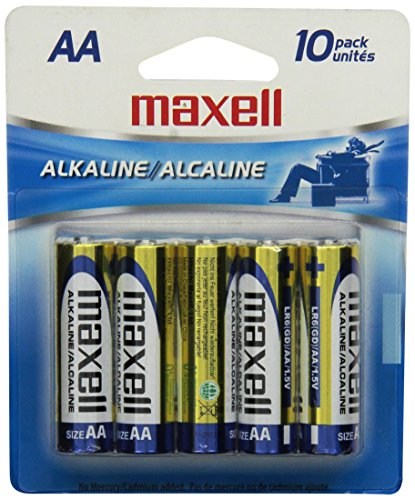 maxell-723410-alkaline-battery-aa-cell-10-pack