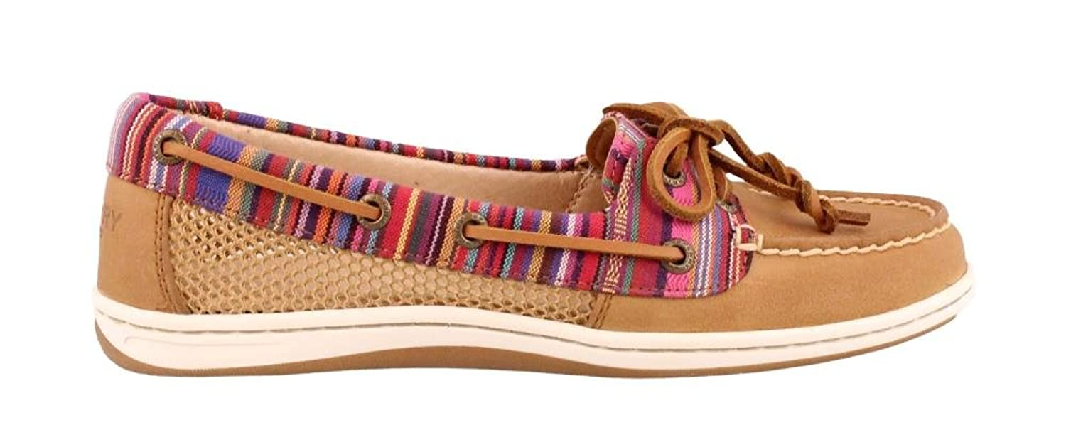 Women's Sperry, Firefish Lace up Boat Shoe TAN 7 M