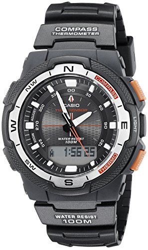 Casio Men's SGW500H-1BV Black Resin Multifunction Watch