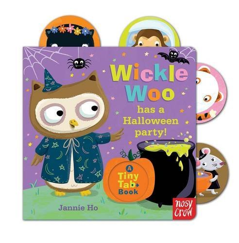 (Tiny Tabs: Wickle Woo has a Halloween Party by Jannie Ho)