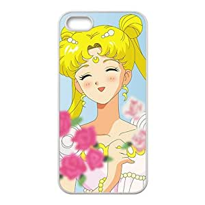 Lovely beautiful girl Cell Phone Case for iPhone 5S