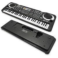 WSS - 61 TECLAS digital música electrónico Música Tecla Placa Musical eléctrica Órgano Piano Micrófono Multifunción Llave Placa portátil