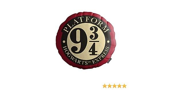 SD Toys-9-3/4 Cojin Redondo Harry Potter, Estampado (SDTWRN22177)