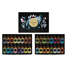 Ultimate Aromatherapy 100% Pure Therapeutic Grade Essential Oils Set (Essential Oil Gift Pack) by Edens Garden- 32/ 10 ml
