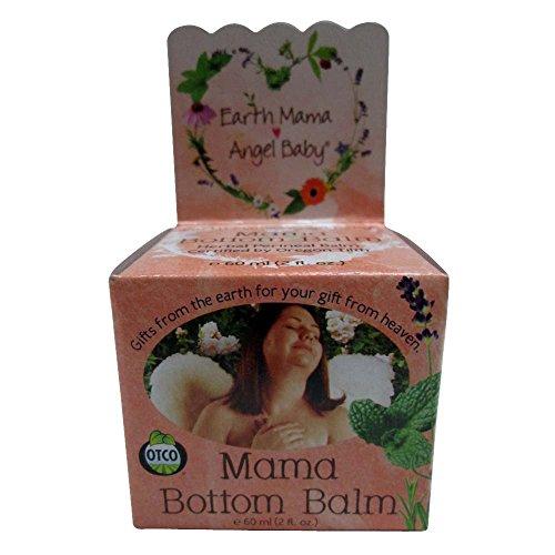 Earth Mama Angel Baby Mama Bottom Balm, 2 oz 2 pk
