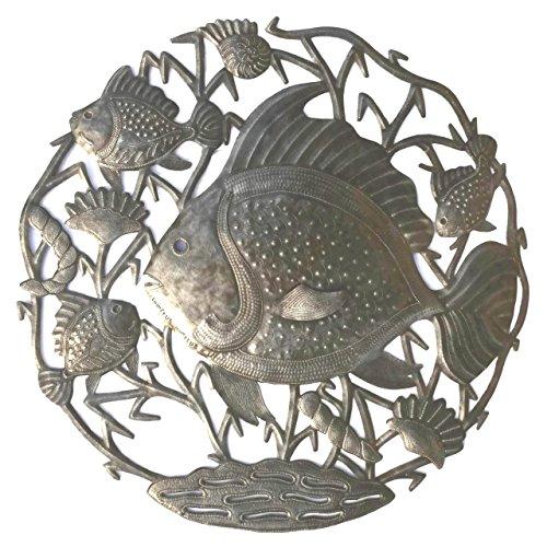 Haitian Metal Art Fish Under Sea 23
