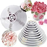 rose leaf cookie cutter - Rose petal flower cutter set cookie mold plastic cutter rose leaf fondant sugar paste cutter gum paste Modelling Tools for Cake Cupcake Toppers Decoration Pack of 13