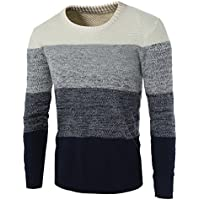 Men's Casual Fashion Pullover Sweater Assorted Color Knitwear