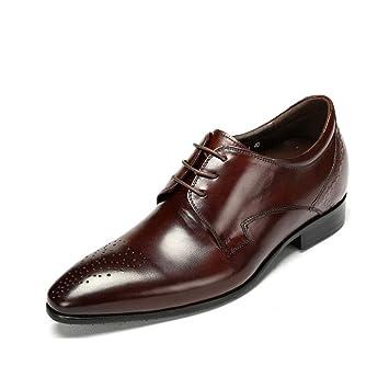 Yaxuan Herrenschuhe Fruhlings Lederschuhe Mode Business Schuhe