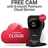 meShare 6 Month Premium Cloud Recording - Get Free Bounded 1080p HD Indoor Wireless Security Camera
