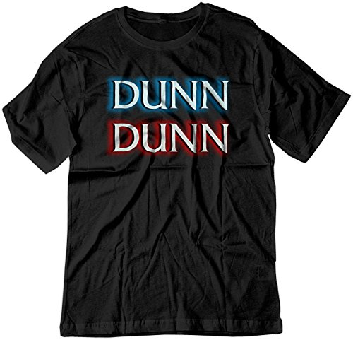 BSW Men's Dunn Dunn Law and Order TV Show Opening Shirt SM Black