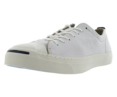 3d7109f9bfeabb Converse Jack Purcell Leather Ox Trainers White 12 UK  Amazon.co.uk ...