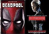 Deadpool Blu Ray & EX-Machina - Movie Pack Hero Bundle Digital HD Movies