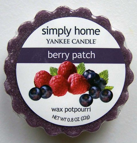Yankee Candle Simply Home Tart Wax Potpourri Twin Pack - Berry Patch