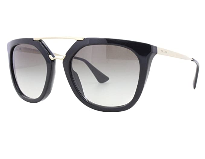 c99c92cfea4c Image Unavailable. Image not available for. Colour  Prada SPR13Q Metal  Womens sunglasses. Color Black Gold.