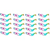 Rainbow Spectrum Diffraction Prism Glasses - 20 Pair by Rob's Super Happy Fun Store