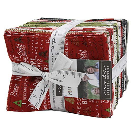 Merry Starts Here 31 Fat Quarter Bundle by Sweetwater for Moda Fabrics ()