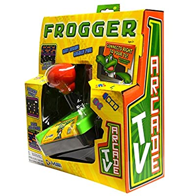 Frogger Plug and Play Classic Arcade TV Game: Toys & Games