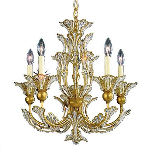 Schonbek 7865-26A Swarovski Lighting Rivendell Chandelier, French Gold