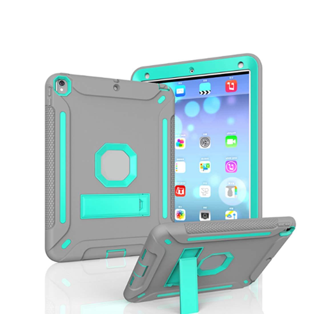 卸売 KRPENRIO KRPENRIO (色:グレー iPad 9.7インチiPad用 5ケース 頑丈 スリム 耐衝撃 シリコン 保護ケースカバー 9.7インチiPad用 (ネイビーブルー/蛍光オレンジ) (色:グレー サイズ:iPad2017) B07L837NP7, チガサキシ:a2741a1d --- a0267596.xsph.ru