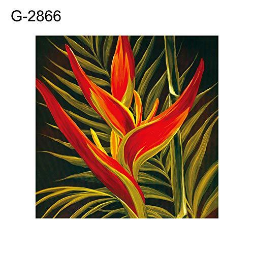 lightclub 30x30cm Plant Seashell Butterfly Cross Stitch Craft Full Round Diamond Painting - G-2866]()