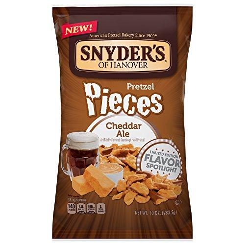 - Snyder's of Hanover Pretzel Pieces, Cheddar Ale, 10 Ounce