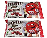 M&M's Valentine Candy Cherry Chocolate, 9.9 OZ (Pack of 2)