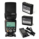YONGNUO YN720 Lithum Battery Wireless Flash Speedlite GN60 2.4G Wireless Radio Master+ Slave for Canon Nikon Pentax