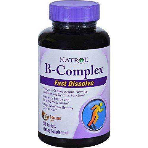 Natrol B Complex Dissolve Tablets Coconut
