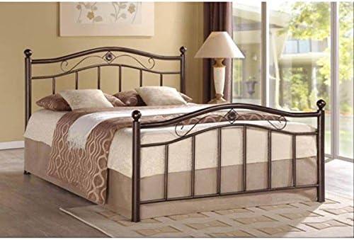 Unspecified Rosebery Bronze Metal Platform Bed Full