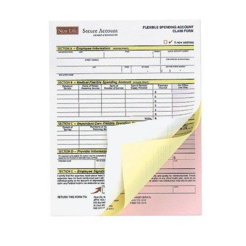 Xerox 3R12426 Premium Digital Carbonless Paper, 8-1/2 x 11, White/Canary/Pink, 835 Sets Xerox.3R12426 DOBA-XER3R12426