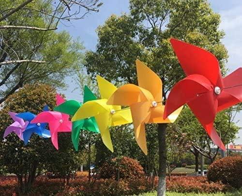 14pcs Molinos de Viento String de Colores como Regalos para Que los niños jueguen, o como una decoración para Jardines de Infantes, Jardines, Cuartos de niños: Amazon.es: Jardín