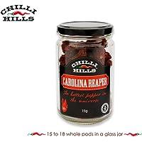 Chilli Hills chiles deshidratados CAROLINA REAPER. Los chiles
