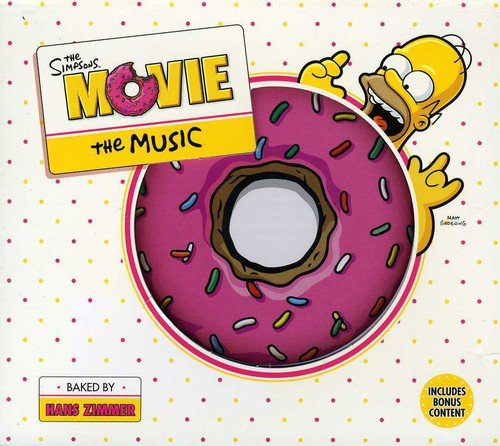 Hans Zimmer The Simpsons Movie Amazon Com Music
