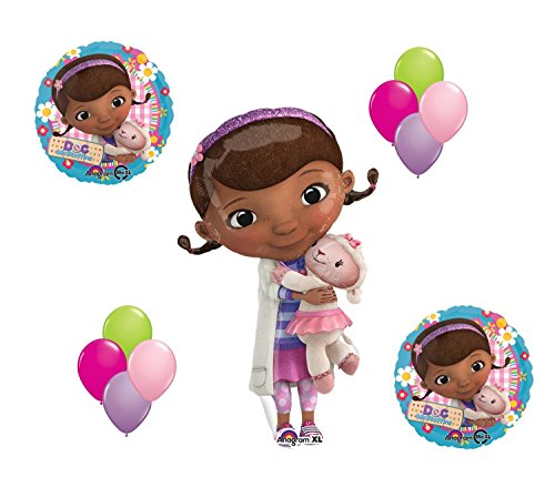 Doc McStuffin and Lambie Mylar Latex Balloon Set