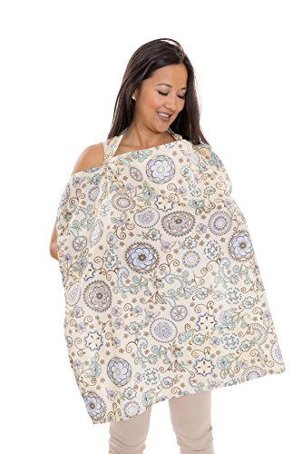 Zenoff Products Nursing Cover, Buttercup Bliss, Yellow, Green
