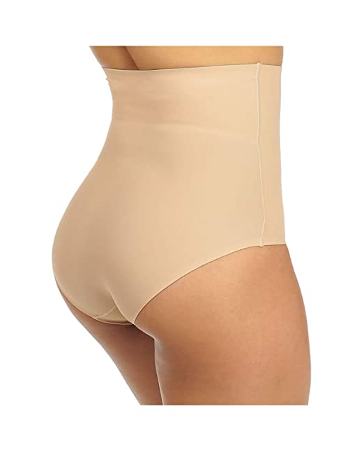 725a96cf71 Tummy Control Shapewear for Women High Waist Shaping Panty Firm Control  Briefs Plus Size (Nude