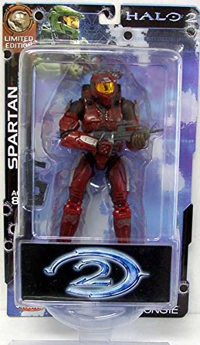 Halo 2 Limited Edition Battle Damaged Master Chief Spartan [75716] Color/Style May Very