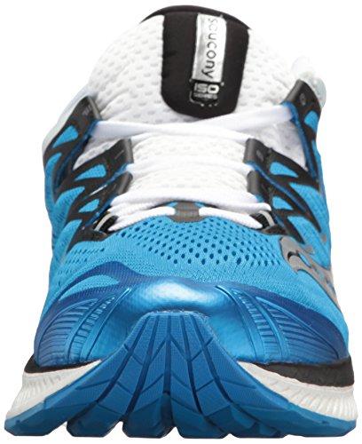 Saucony 4 Homme Chaussures Blk Wht de Iso Bleu 2 Gymnastique Triumph rHqATr
