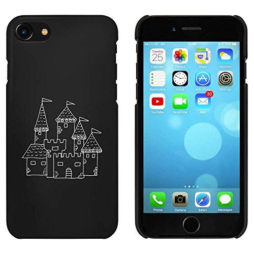 Noir 'Château Médiéval' étui / housse pour iPhone 7 (MC00076285)