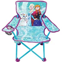 Frozen New Spring 2018 Northern Lights Sisters Fold N Go Chair with Carry Bag