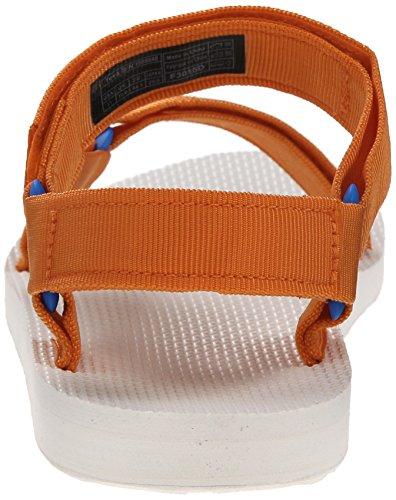 Mens Teva M Originale Universale Arancione Sportiva Sandalo