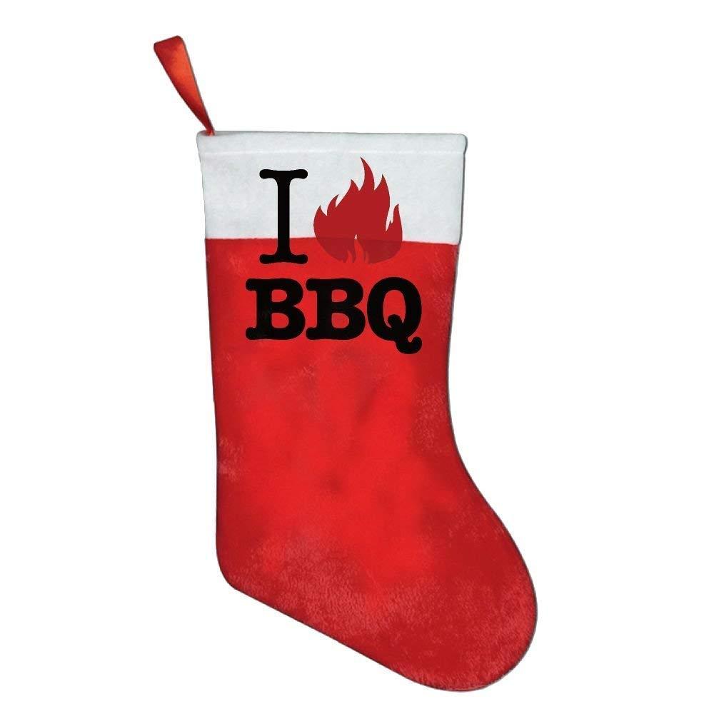 coconice I Love BBQ Christmas Holiday Stockings